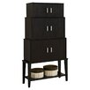 Monarch Specialties Inc. 3 Door Storage Cabinet