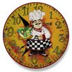 "Stupell Industries Home Décor 12"" Italian Chef Wall Clock"