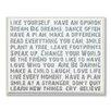 Stupell Industries Like Yourself Inspirational Typog Graphic Art