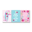Stupell Industries The Kids Room 3 Piece Keep Calm and Surf On Pink and Blue Trio Wall Plaque Set