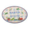 Stupell Industries The Kids Room Boys Baby Room Oval Wall Plaque