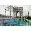 Parvez Taj George V Painting Print on Canvas