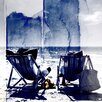 Parvez Taj Life's a Beach Painting Print on Canvas