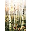Parvez Taj Daisy Forest - Art Print on Premium Canvas