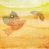 Parvez Taj Love Birds - Art Print on Premium Canvas