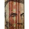 Parvez Taj Abe Lincoln Graphic Art Plaque