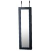 InnerSpace Luxury Products Over The Door Jewelry Armoire with Mirror