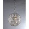 Warehouse of Tiffany Prometheus 4 Light Crystal Chandelier