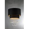 Warehouse of Tiffany Double Cake 8 Light Crystal Chandelier