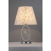 """Warehouse of Tiffany Merriam Crystal 26"""" H Table Lamp with Cone Shade"""