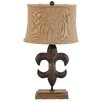 "A&B Home Group, Inc 27"" H Table Lamp with Bell Shade"
