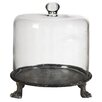 A&B Home Group, Inc Cake Stand with Glass Dome