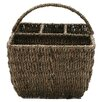 TAG Baskets Seagrass Four-Part Caddy