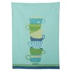 TAG Textiles Teacups Topiary Dishtowel