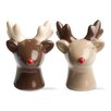 TAG Woodland 2 Piece Reindeer Salt and Pepper Shaker Set