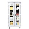 "<strong>Transport 36"" Mobile Clear View Cabinet</strong> by Sandusky Cabinets"