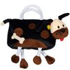 <strong>Sassafras</strong> Kid's Plush Bags Fido Overnighter Tote Bag