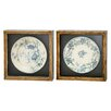 <strong>Winward Designs</strong> Antique Plate Soft Design Frame Art