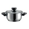 Domestic by Maser Miranda Stainless Steel Stewing Pan with Lid