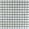 "Epoch Architectural Surfaces Alpinez Snow Bird 1"" x 1"" Glass Mosaic in White"