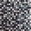"<strong>Epoch Architectural Surfaces</strong> Cloudz Nimbostratus 5/8"" x 5/8"" Stone and Glass Mosaic Blend in Multi"