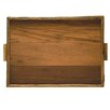 Be Home Reclaimed Wood Rectangular Serving Tray
