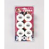 Joola USA Rossi 3 Star Ball - 6 Count in White