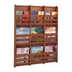 Safco Products Company Bamboo Wall Magazine Rack