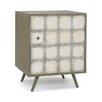 DwellStudio Franklin Silver Leaf Side Cabinet