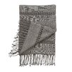 DwellStudio Raw Silk Smoke Throw