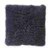 DwellStudio Sheepskin Longwool Curly Pillow