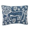 DwellStudio Safari Knitted Boudoir Pillow