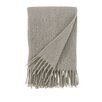 DwellStudio Mohair Solid Platinum Throw