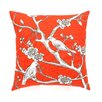 DwellStudio Vintage Blossom Persimmon Pillow Cover