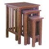 Wayborn Jones 3 Piece Nesting Tables