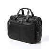 <strong>Kenneth Cole Reaction</strong> Business Cases Long Story Port Double Gusset Leather Laptop Briefcase