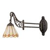 Elk Lighting Mix-N-Match 1 Light Swing Arm Wall Sconce