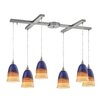 Elk Lighting Canyon 6 Light Kitchen Island Pendant