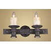 <strong>Elk Lighting</strong> Cambridge 2 Light Wall Sconce