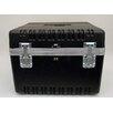 Platt Heavy-Duty ATA Case with Wheels and Telescoping Handle in Black: 23 x 23.13 x 17.5