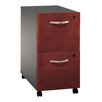 <strong>Series C 2-Drawer Mobile  Filing Cabinet</strong> by Bush Industries