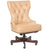 Hooker Furniture Leather Swivel Chair