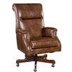 Hooker Furniture Leather Tilt Swivel Executive Chair