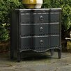 Hooker Furniture 3 Drawer Shaped Front Chest