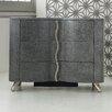 Hooker Furniture Melange Lana 3 Drawer Nightstand