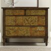 Hooker Furniture Scroll and Script Drawer Chest