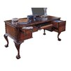 "Hooker Furniture Bedford Row 60"" W Ball / Claw Writing Desk Set"