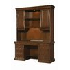 Hooker Furniture Cherry Creek Writing Desk with Wall End Unit