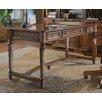 "Hooker Furniture Brookhaven 60"" W Leg Writing Desk with Tilt Swivel Chair"
