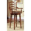 Waverly Place Ladderback Bar Stool in Cherry